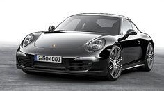 Porsche 'Black Edition': El 911 Black Edition está basado en el modelo básico de motor de 3,4 litros y 350 caballos de potencia con llantas 911 Turbo de 20 pulgadas y faros LED del Dynamic Light System Plus (PDLS +). También tiene un módulo de teléfono y Park Assist en la parte delantera y trasera, que incluye una cámara de marcha atrás.