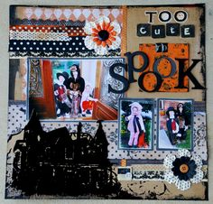 Too Cute to Spook by Melissa