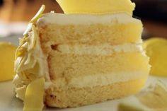 lemon layer cake with lemon white chocolate cream cheese frosting