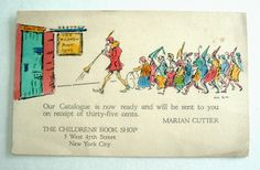 Marian Cutter and The Children's Book Shop in New York