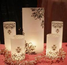 Lamparas de papel y Leds, Producto de Almanova sobre Participaciones en Buenos Aires - Casamientos Online