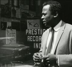 Miles Davis by Esmond Edwards, Prestige-Records.