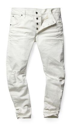 #OF142 - Intricately crafted based on G-Star 3D design principles, the Arc 3D jean uses twisted seams to create a bowed fit that turns around the leg. This means a slim fit with exceptional comfort and mobility. www.g-star.com