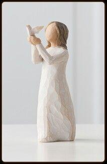 """Willow Tree """"Soar"""" figurine."""