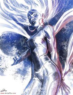 X-MEN: Storm by ArtofTu on DeviantArt