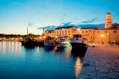 The island of Krk, located in the northern part of the Croatian coast. www.casademar.com