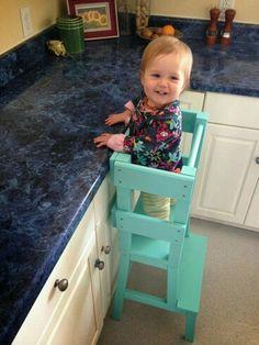 Helper stool