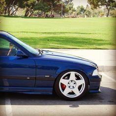 BMW M3 e36 fifteen52 1552 Lowered