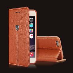 Caso para iphone 7 plus de lujo retro flip funda de cuero soporte de la carpeta para iphone 5s 5 se 6 6 s plus cubierta logo accesorios de negocios