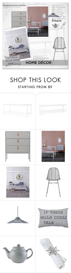 Make It Simple by cruzeirodotejo on Polyvore featuring interior, interiors, interior design, home, home decor, interior decorating, Bloomingville, Park B. Smith, CO and Home