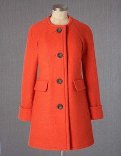@BodenClothing Saint Germain Coat Geranium