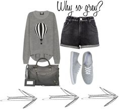 """""""So grey but love it!"""" by pinklady36 on Polyvore"""