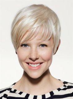 Very Short Hair Styles for Fine Hair - Hairstyles for Women Over 30 - 40 - Styles Weekly New Short Hairstyles, Pixie Hairstyles, Hairstyles With Bangs, Straight Hairstyles, Short Haircuts, Blonde Hairstyles, Layered Hairstyles, Haircut Short, Haircut Styles
