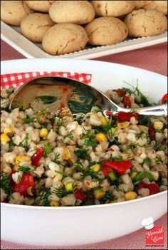 Buğday Salatası – sağlıklı yemekler – The Most Practical and Easy Recipes Appetizer Salads, Appetizers, Food N, Food And Drink, Roasted Eggplant Dip, Turkish Recipes, Ethnic Recipes, Iftar, Recipes