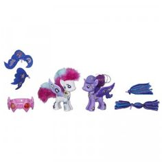 With My Little Pony Pop, kids can design their own My Little Ponies, including Rarity & Princess Luna.