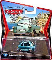 Cars 2 - #6. Professor Z - Single