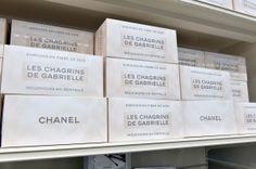 Chanel Supermarket / Chanel Shopping Center / Supermarche. Paris Fashion Week 2014. Grand Palais. Lace hankerchiefs