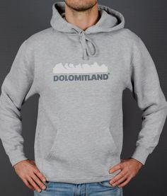 Dolomitland sportswear hoodie www.dolomitland.it