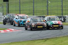 Carlito Miracco Racing - Mini Challenge Uk Mini Cooper S R56  Photo Credit David Young Photo,   If at first you don't succeed, try again, Carlito still won the race, he won't be intimidated!