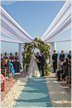 Possible fix for candle lighting-Fabric to provide shade? Wedding Ceremony Tent Alternative