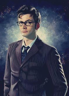 David Tennant - Doctor Who 2 Art Print