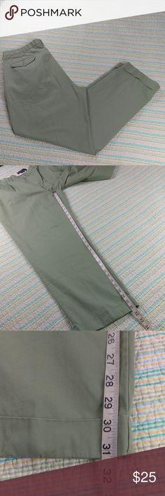 """Polo Ralph Lauren 34 Green Hammond Pants Pleated Polo Ralph Lauren Mens """"Hammond"""" Pants Sz W 38 X 32 L Pale Olive Pleated Slacks Polo by Ralph Lauren Pants"""