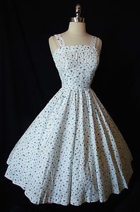 Vintage Garden Party Dress Clothes And Shoes And Other