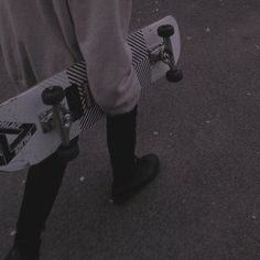 let's go to the park, and skateboard until our legs turn into jelly and someone ends up covered in bruises and scapes. Gray Aesthetic, Aesthetic Grunge, Aesthetic Photo, Aesthetic Pictures, Gothic Aesthetic, Aesthetic Girl, Art Grunge, Mode Grunge, Grunge Goth