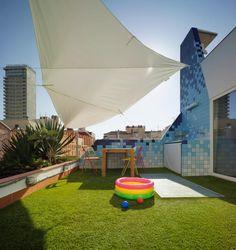 Vista terraza. Casa Lulú. Barbarela studio. Fotografía © David Frutos. Cortesía Barbarela studio.
