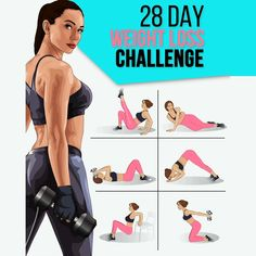 Day Weight Loss Challenge to Have Perfect Body- You need just 28 days to make the body absolutely fit! Exercises will help you to create the perfect body in 1 month! Fitness Challenge below makes your dream come true! Body Fitness, Fitness Gym, Health Fitness, Fitness Tracker, Fitness Blogs, Mens Fitness, Weight Loss Challenge, Workout Challenge, Weight Loss Transformation