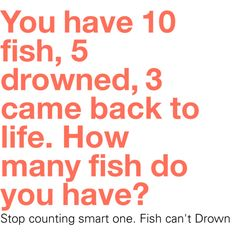 1000 ideas about jokes on pinterest funny pictures for Can fish drown