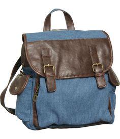 "jean purses   Purse Boutique: Blue Nila ""Denim Crossbody"" Convertible Backpack ..."