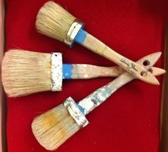 How to care for your Annie Sloan paint brushes, waxing and prep for furniture you want to paint.