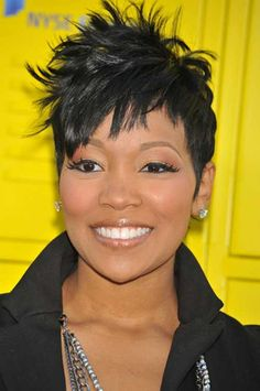 Singer Monica Hairstyles for Women