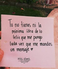Sus mensajes A? frases - Rebel Without Applause Sad Love, Cute Love, Love You, Love Phrases, Love Words, Crush Quotes, Me Quotes, Ex Amor, Frases Love