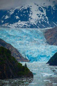 Sawyer Glacier, Inside Passage, Tracy Arm Fjord - Alaska