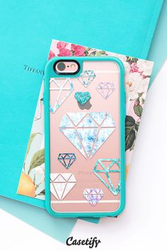 Remember diamonds are created under pressure. Click through to see more designs by @noondaydesign >>> https://www.casetify.com/noondaydesign | @casetify