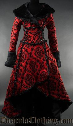Steampunk Coat, Steampunk Clothing, Fantasy Gowns, Cool Outfits, Fashion Outfits, Jackets For Women, Clothes For Women, Gothic Outfits, Gothic Fashion