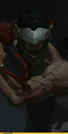 Genji Blackwatch art