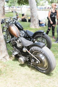 Harley choppers
