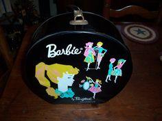 1962 Ponytail Barbie... Black Vinyl... Vintage by MirandasRoom Barbie Ponytail, Vintage Hat Boxes, Is 11, Little Girls, Conditioner, Shapes, Dolls, Bags, Kid