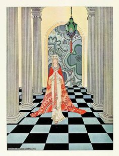 Shop Harmonia by Virginia Frances Sterrett Poster created by vintage_illustration. French Fairy Tales, Art Nouveau, Virginia, Ballet Russe, Nathaniel Hawthorne, Digital Image, Altered Art, Les Oeuvres, Vintage Art