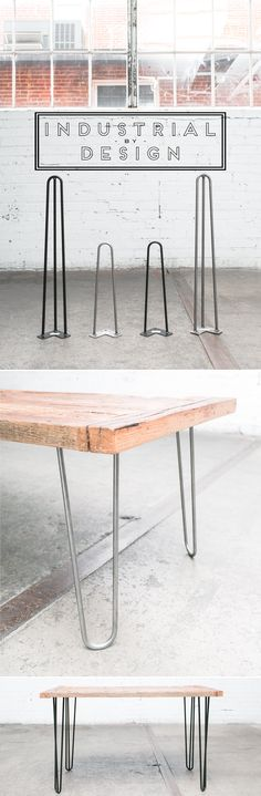 Hairpin Legs for DIY ▫ Mid Century Modern ▫ Industrial Strength ▫ Amazon #1 Best Selling Hairpin Legs