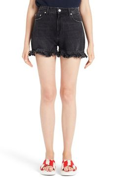 MSGM Cutoff Jean Shorts available at #Nordstrom