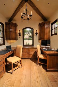 Tuscan Home Office