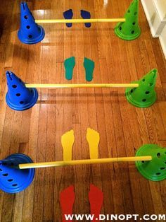 Toe Walking in Children; Background and Treatment Ideas to address toe walking; Idiopathic Toe Walking in Children; Physical Activities For Kids, Occupational Therapy Activities, Pediatric Occupational Therapy, Motor Skills Activities, Gross Motor Skills, Sensory Activities, Preschool Activities, Preschool Learning, Movement Activities