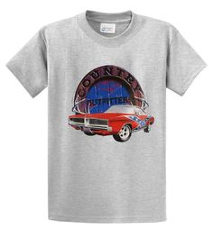 Big Men's Country Outfitters Car Graphic T-Shirt
