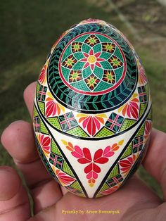 Arsen Romanyuk goose egg