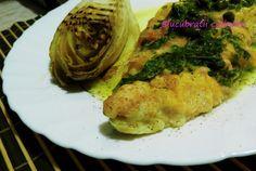 Stiuca in sos meunier Spaghetti, Meat, Chicken, Romania, Ethnic Recipes, Food, Meals, Yemek, Noodle
