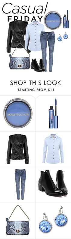 Untitled #34 by hsimon0526 on Polyvore featuring DUBARRY, Coach, Swarovski, Benefit and Max Factor